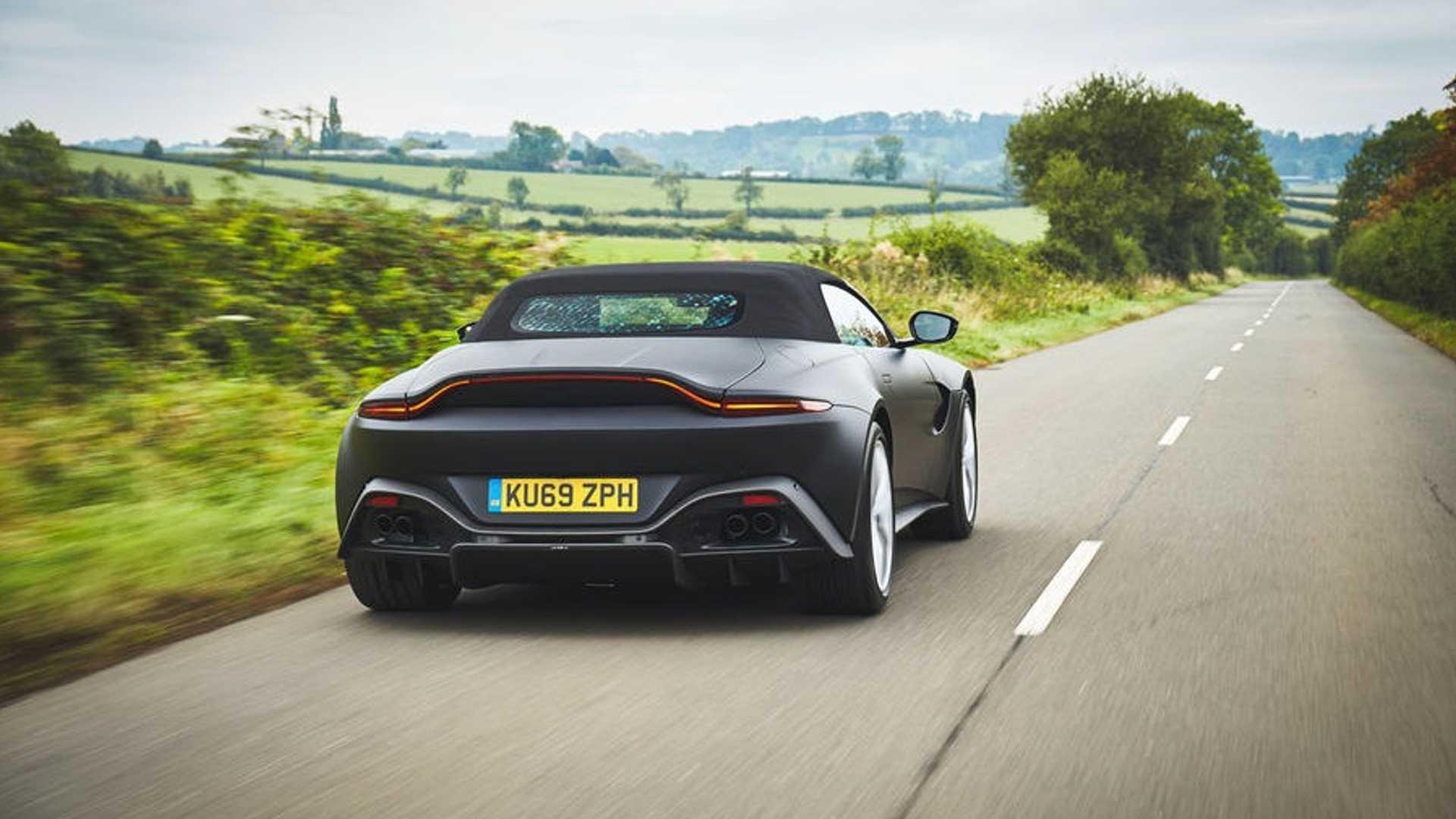 2020 Aston Martin V8 Vantage Roadster Official Photos Revealed Gtspirit