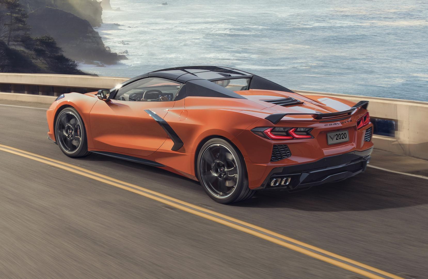 2020 Corvette Convertible Hardtop