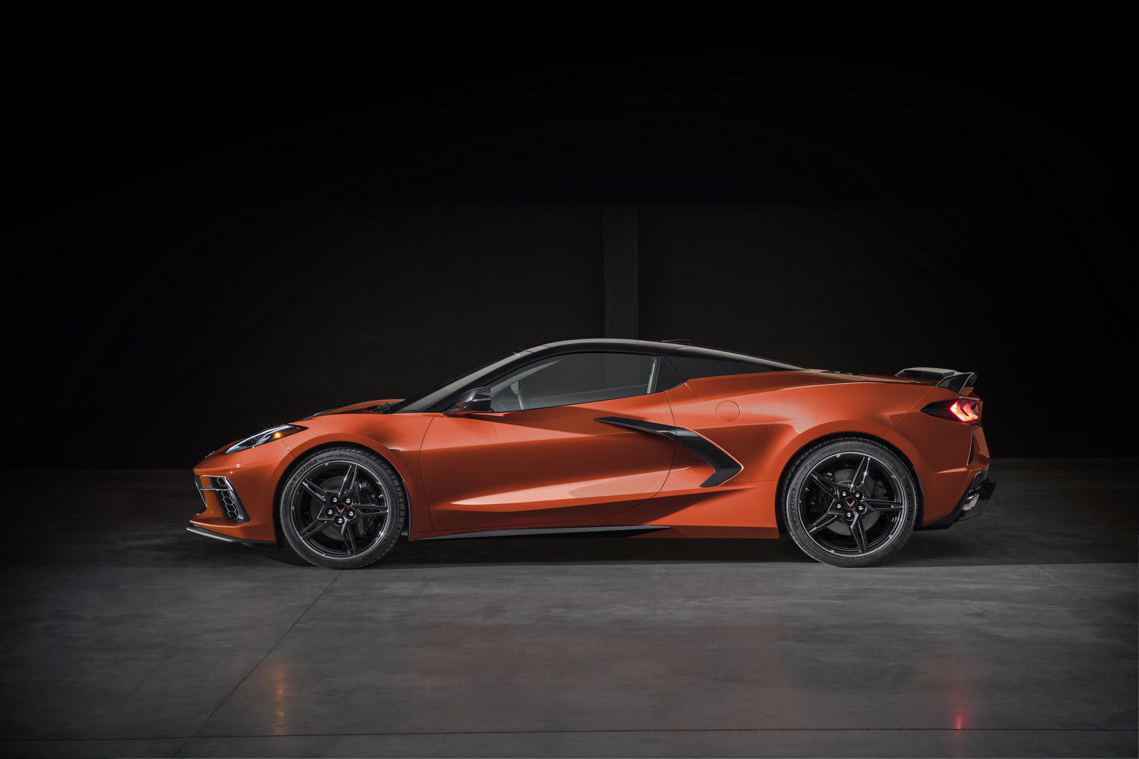 2020 Corvette Convertible Side