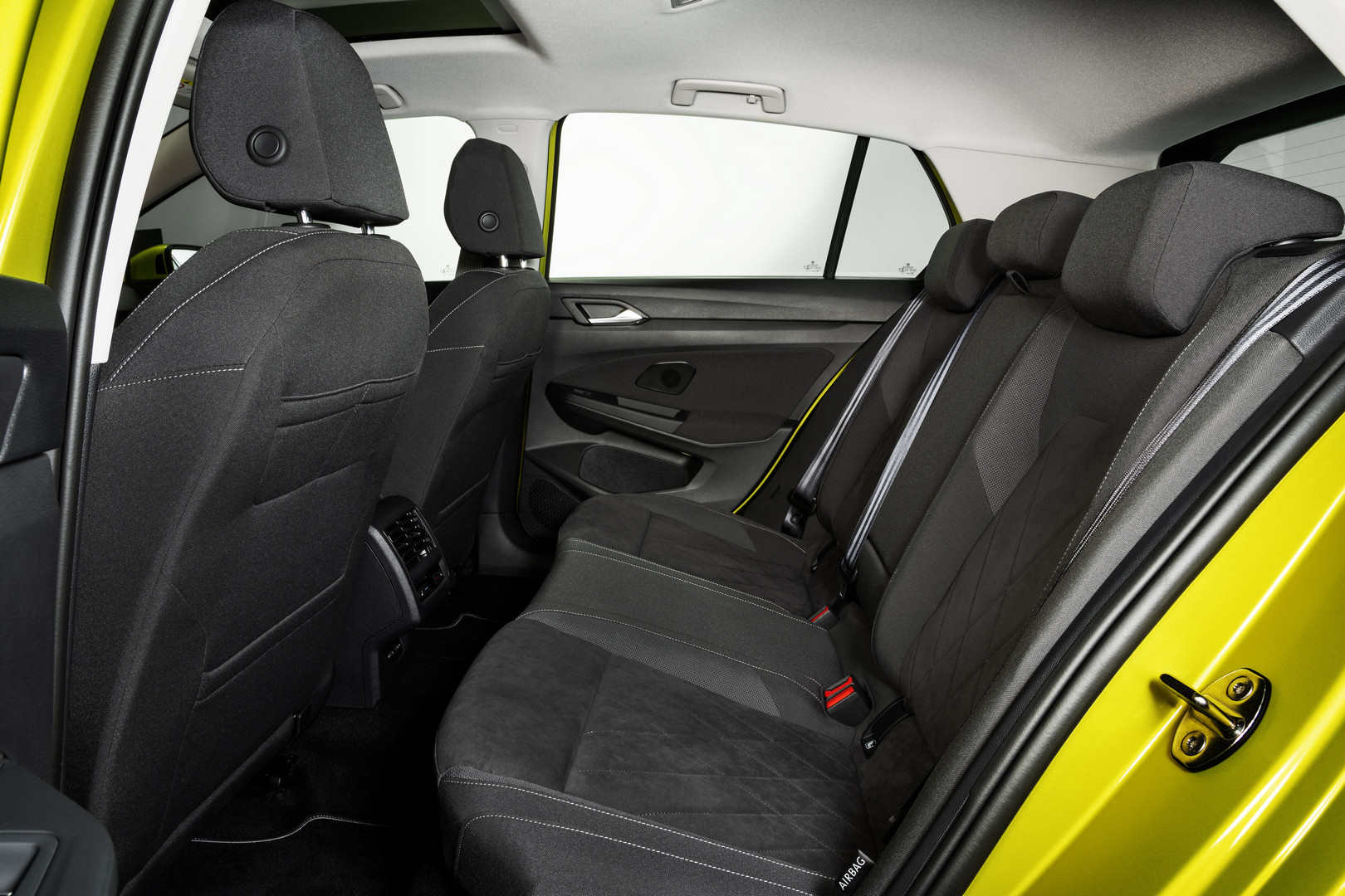 2020 VW Golf 8 Back Seats