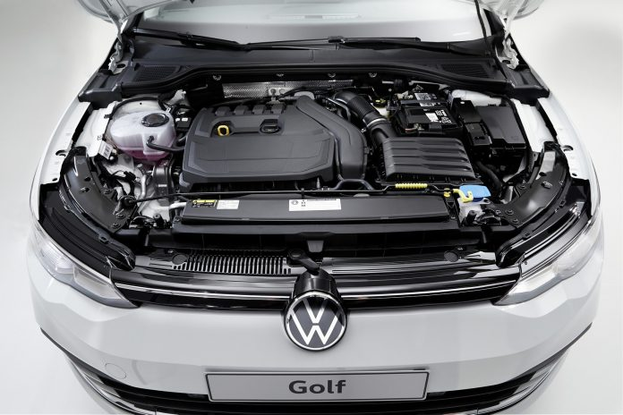 2020 VW Golf 8 Engine