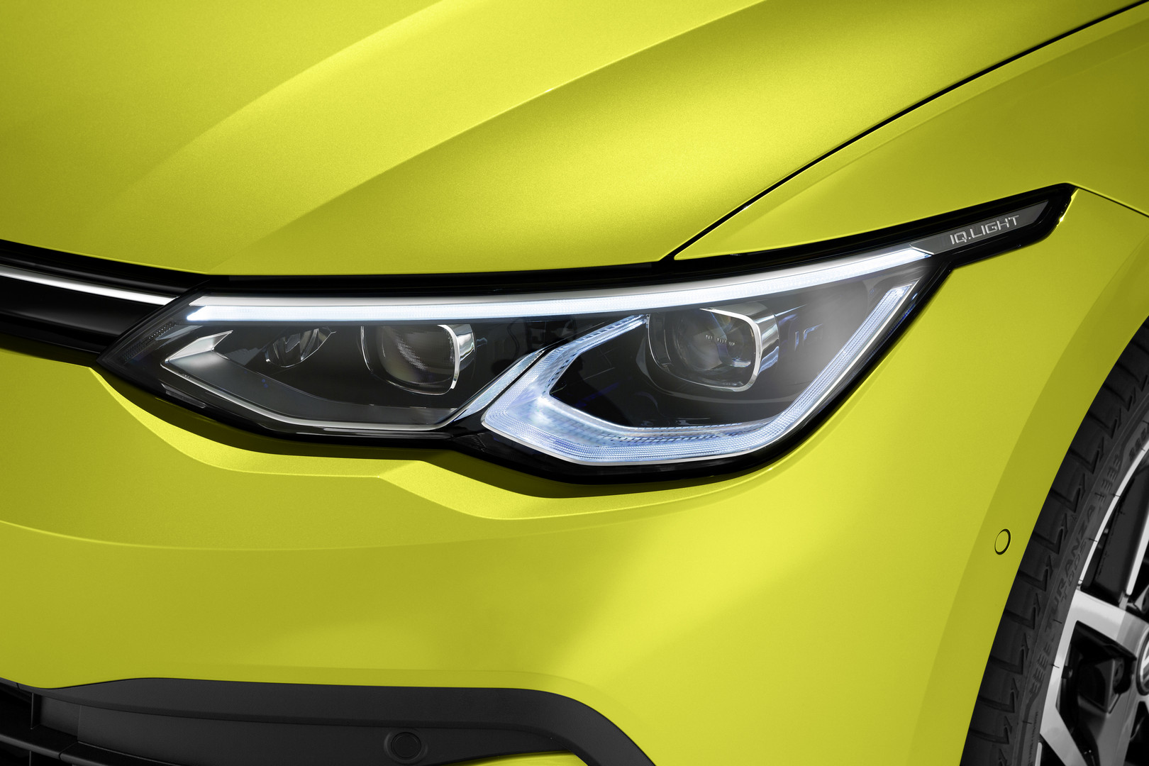 2020 VW Golf 8 Headlights
