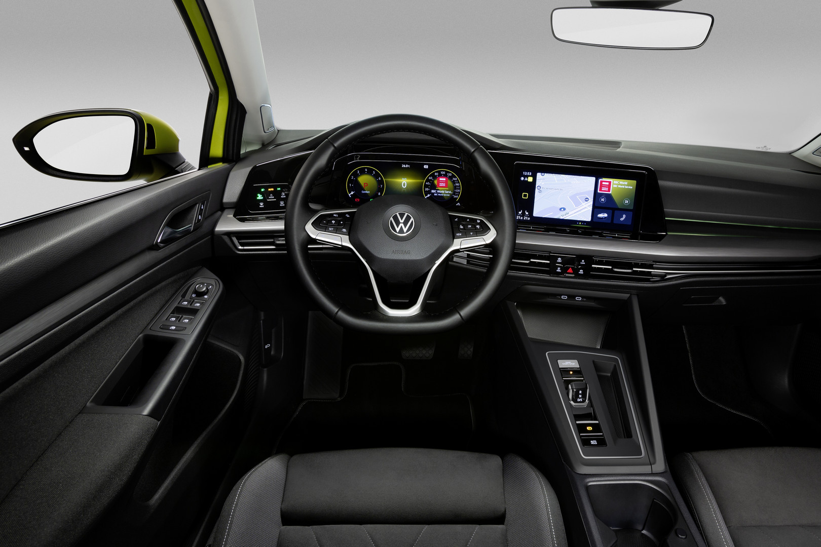 2020 VW Golf 8 Interior