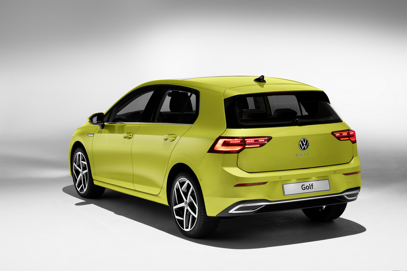 2020 VW Golf 8 Rear