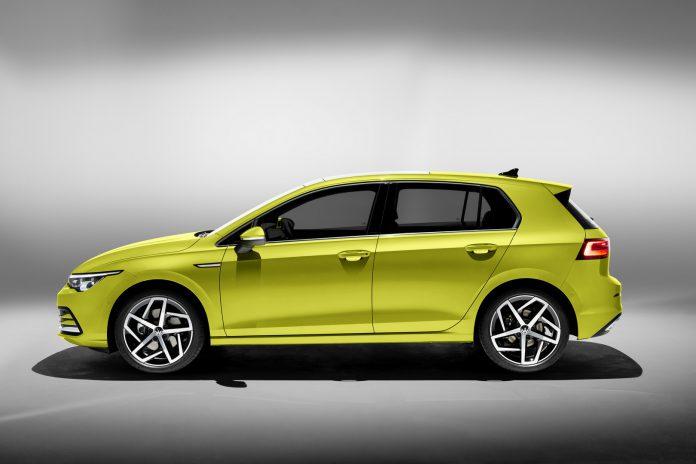 2020 VW Golf 8 Side