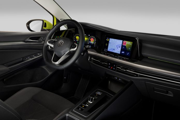 2020 VW Golf 8 Steering Wheel