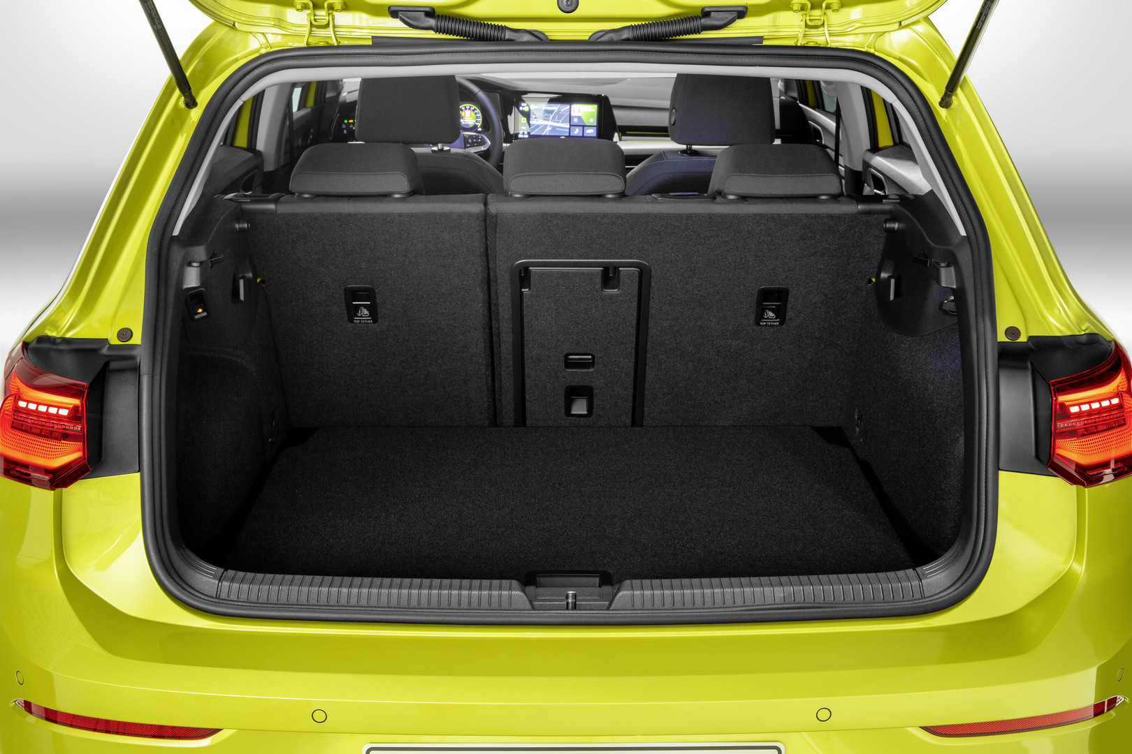 2020 VW Golf 8 Trunk