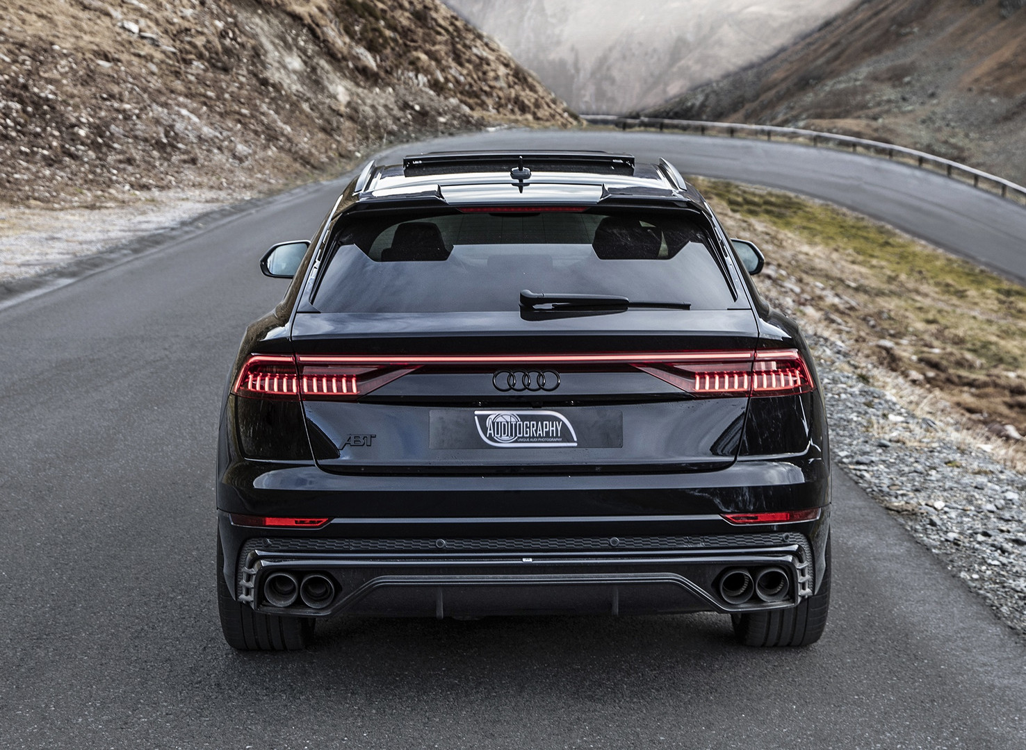 ABT Audi SQ8 Rear View