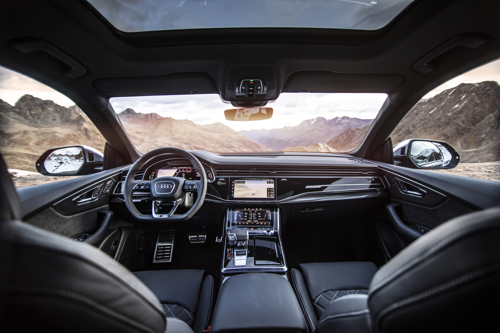 ABT Audi SQ8 TDI Interior