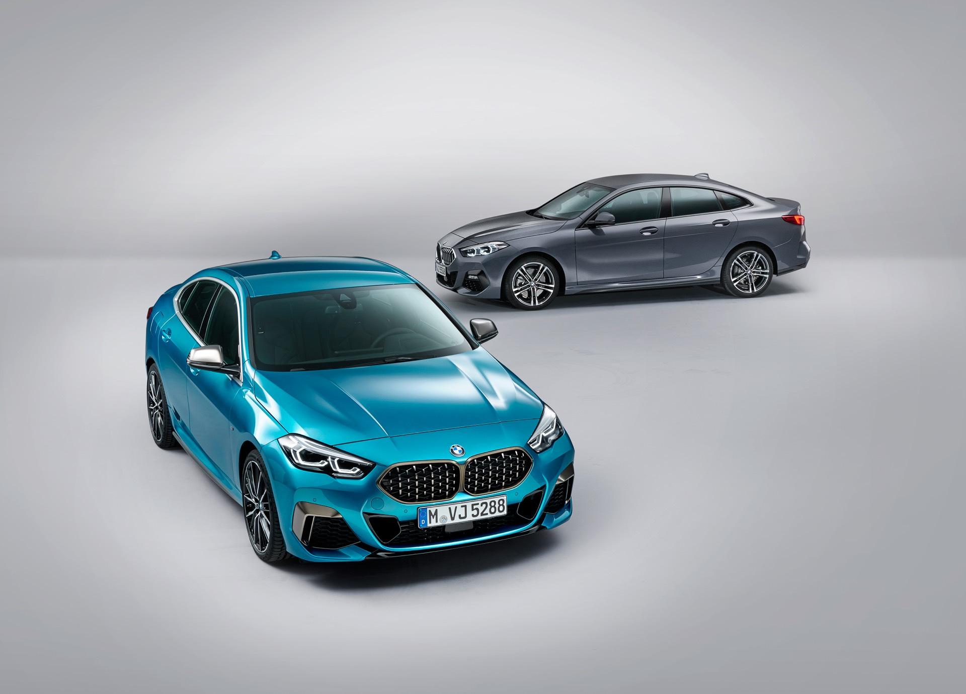 BMW 2 Series Gran Coupe – BMW Reveals Front-Wheel-Drive Sedan
