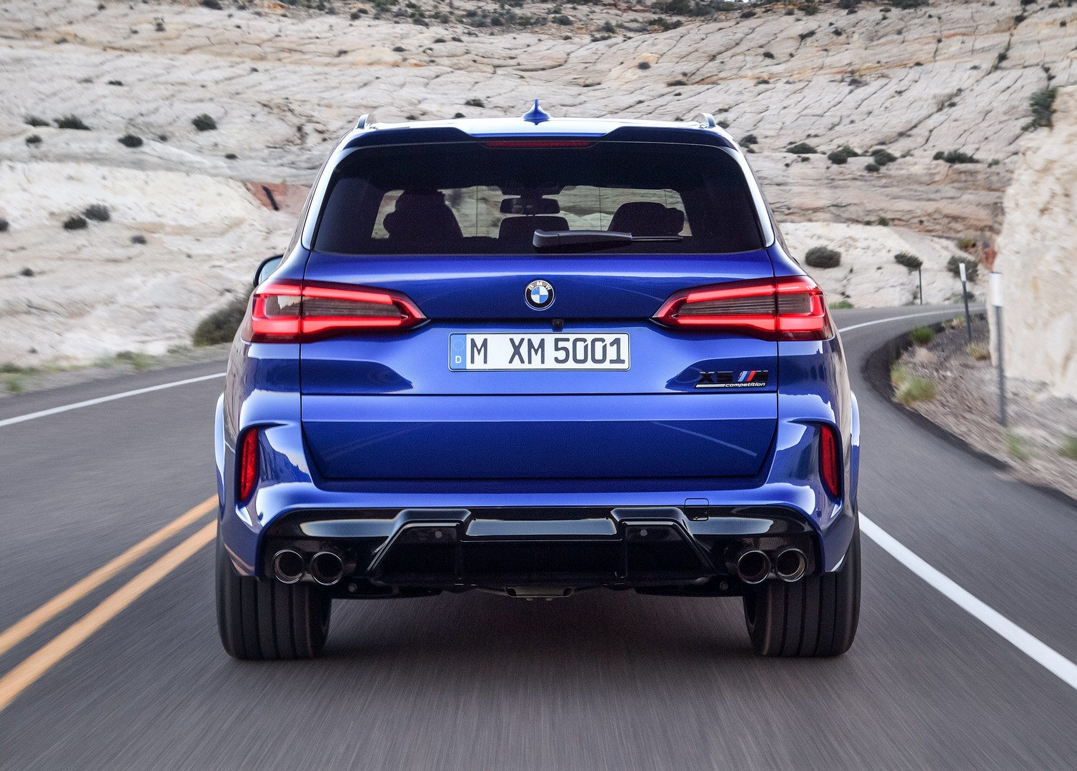 BMW X5 M Competition Rear