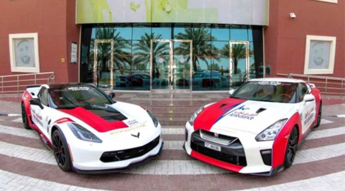 Dubai Ambulance Supercars