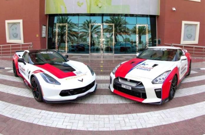 Dubai Ambulance Supercars