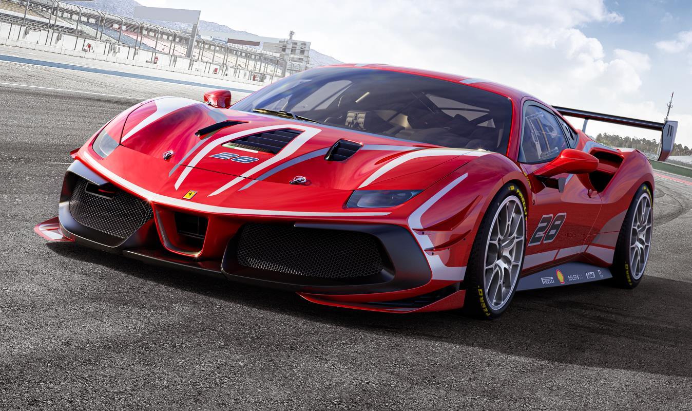2020 Ferrari 488 GT3 Evo and 488 Challenge Evo Revealed