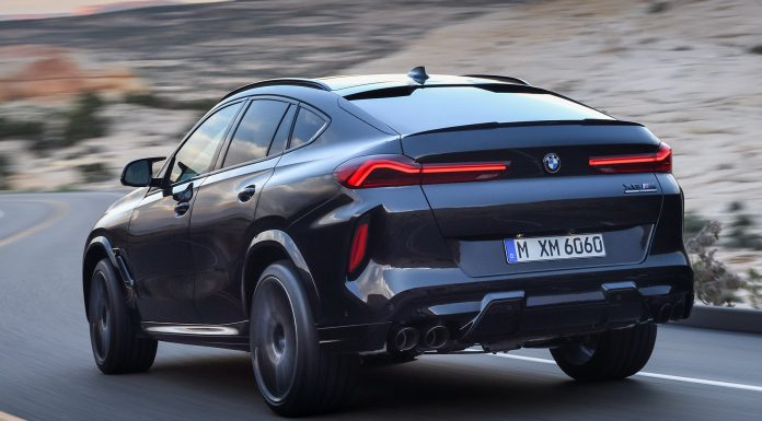 BMW X6 M Competition Rear