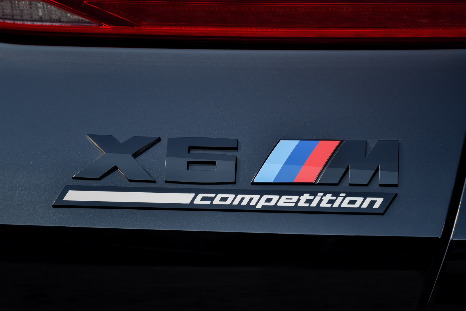 BMW X6 M Competition Badge