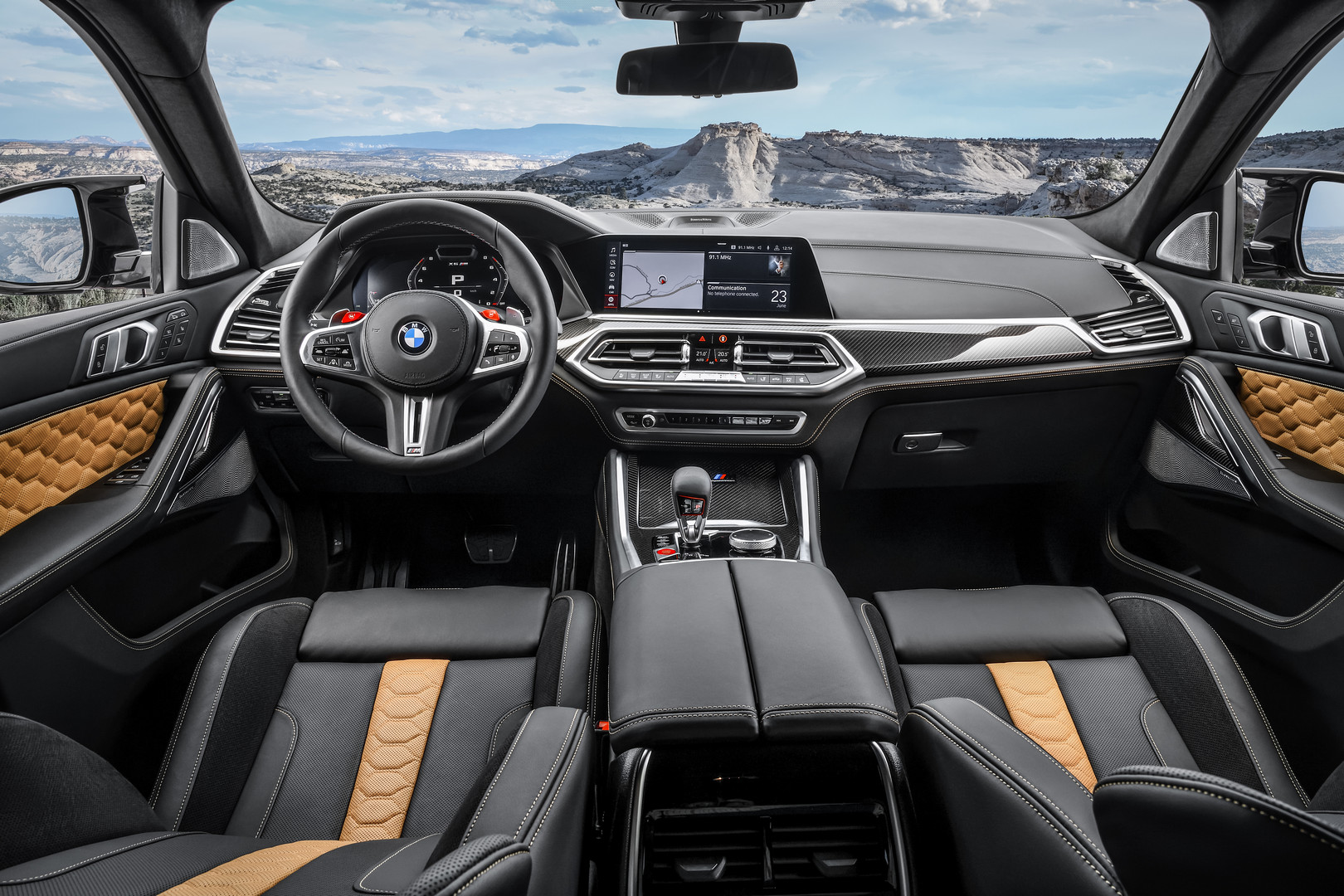 BMW X6 M Competition Interior