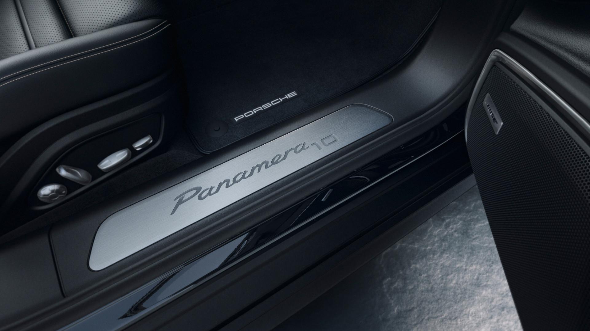 Porsche Panamera Door Sill