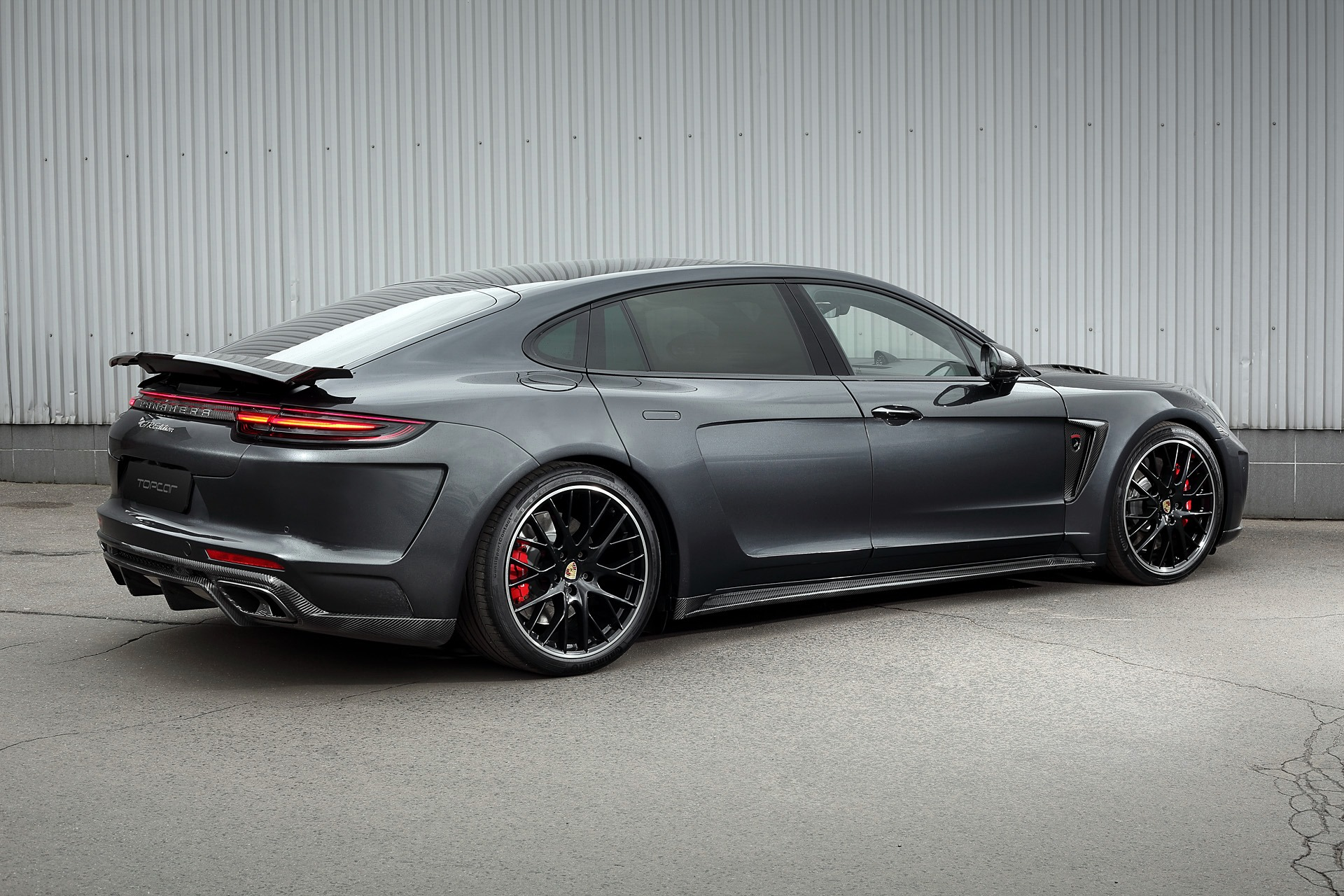 Porsche Panamera Turbo Grey