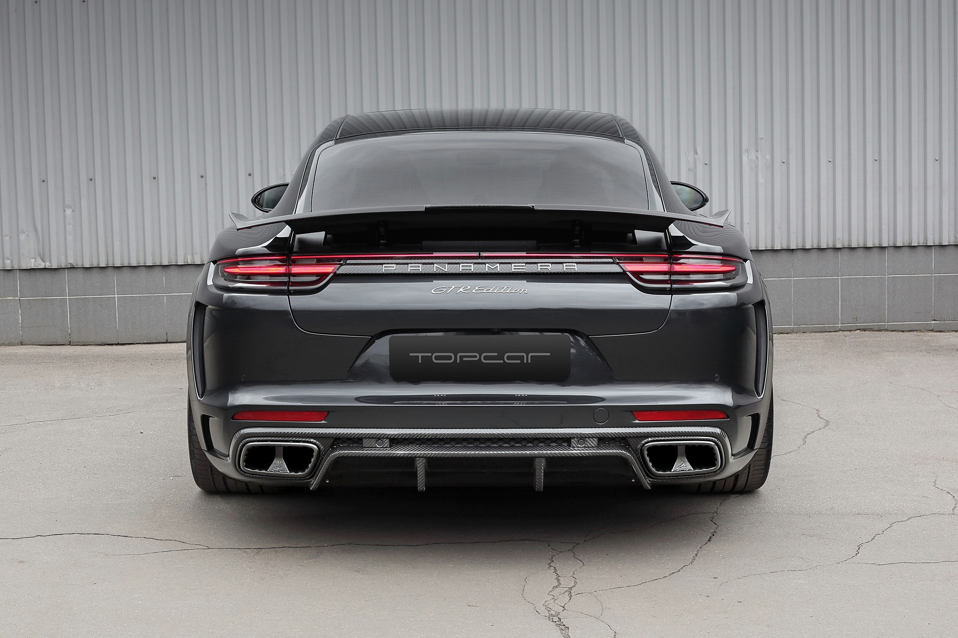 Porsche Panamera Turbo Rear