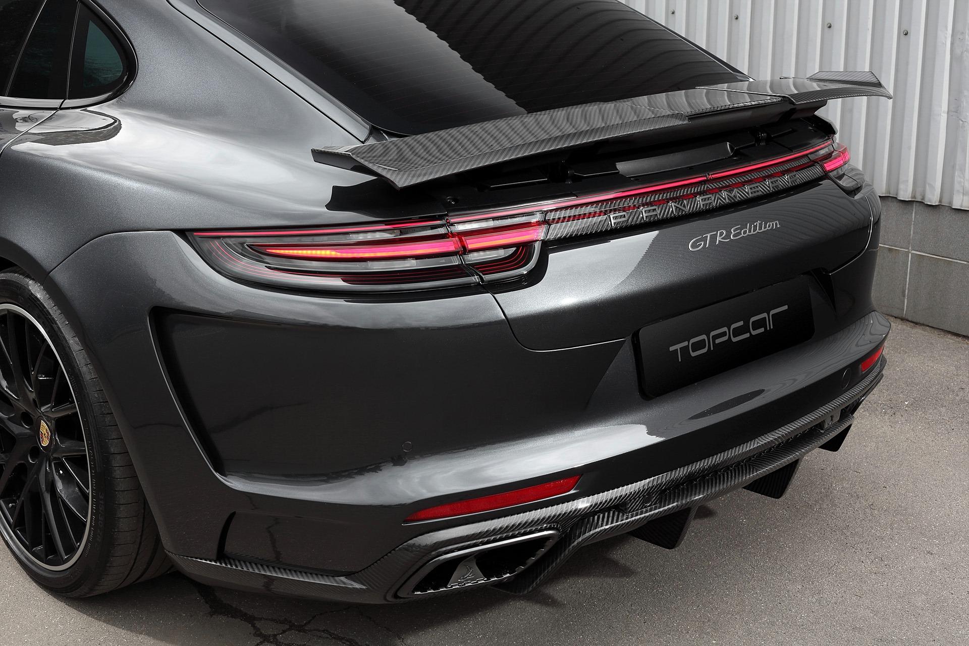 Porsche Panamera Turbo Spoiler