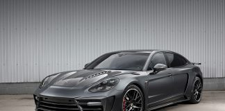 Porsche Panamera Turbo Tuning