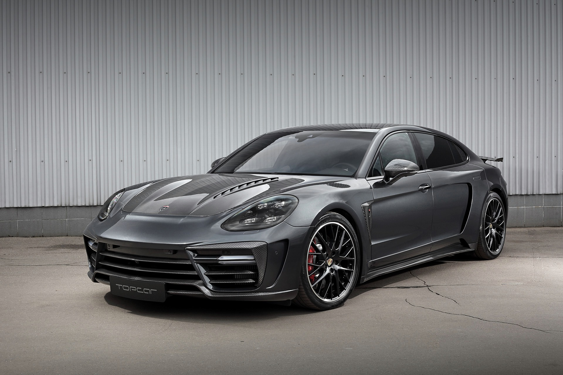 TopCar Creates Widebody Kit for Porsche Panamera Turbo