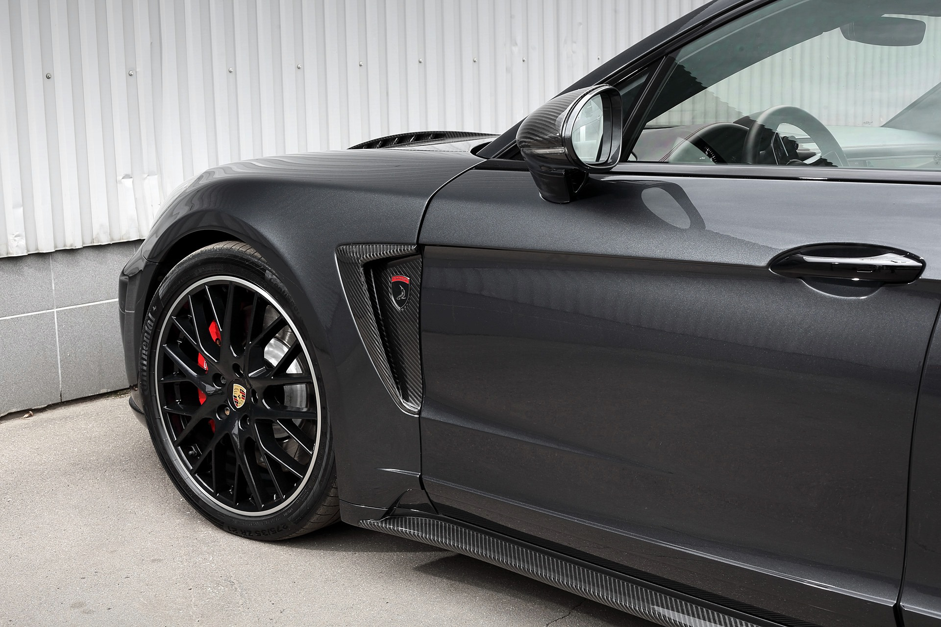 Porsche Panamera Turbo Wheels
