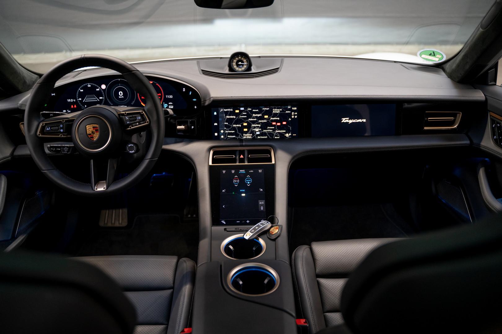 Porsche Taycan Interior 2020