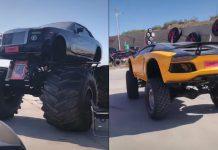RR + Aventador