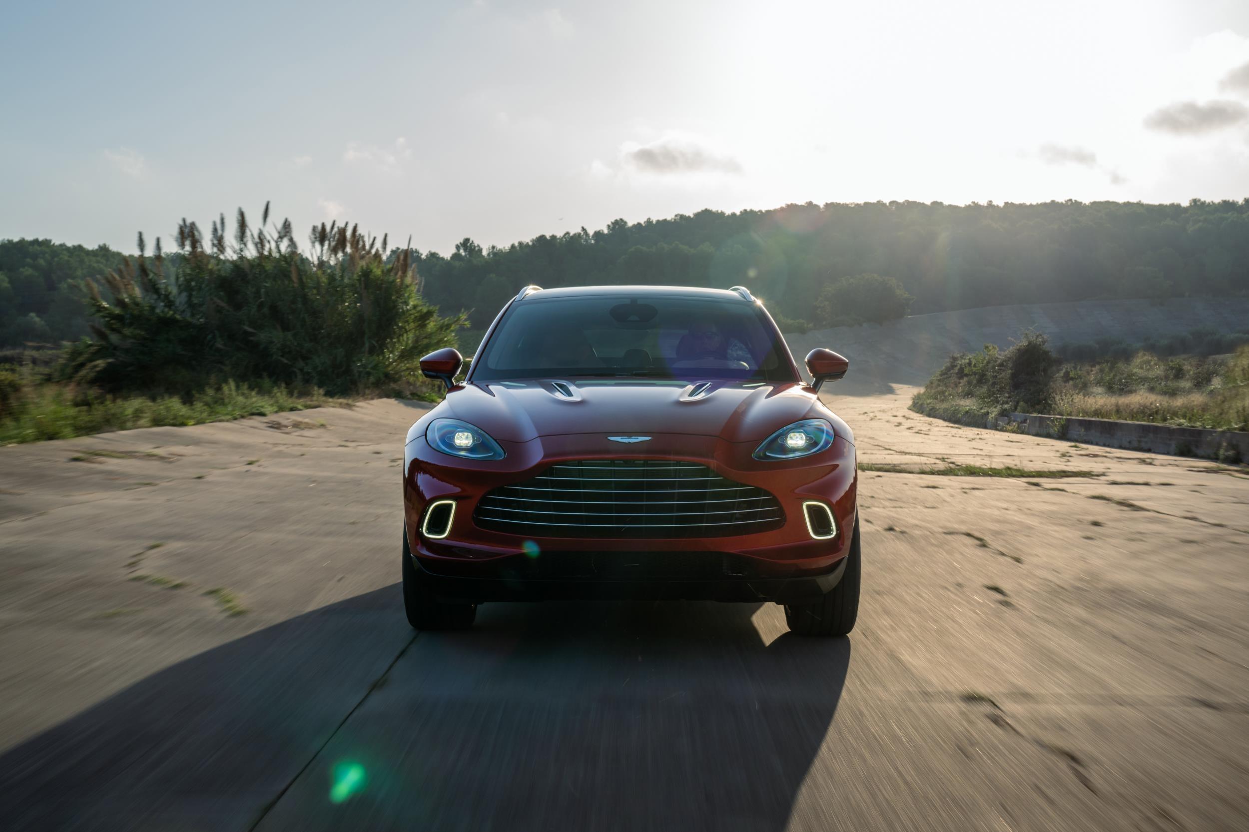 Aston Martin DBX Grille