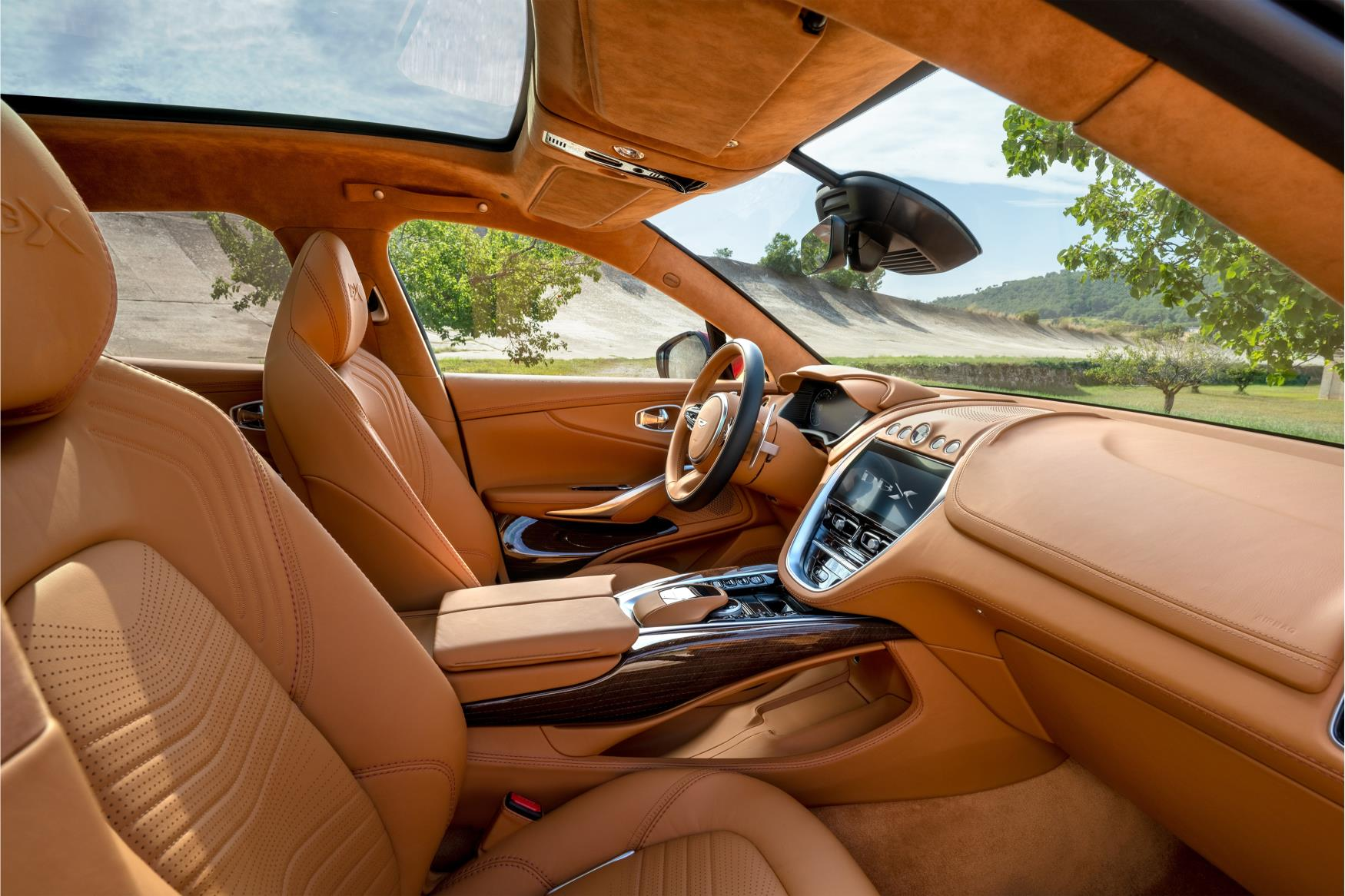Aston Martin DBX Passenger Side