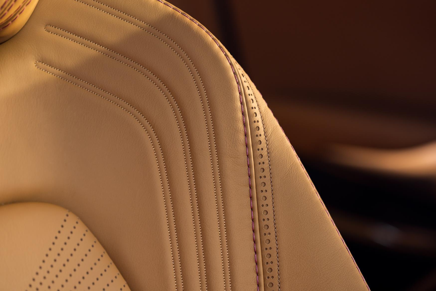 Aston Martin DBX Stitching