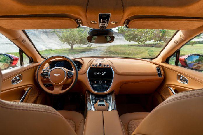 Aston Martin DBX Front Interior