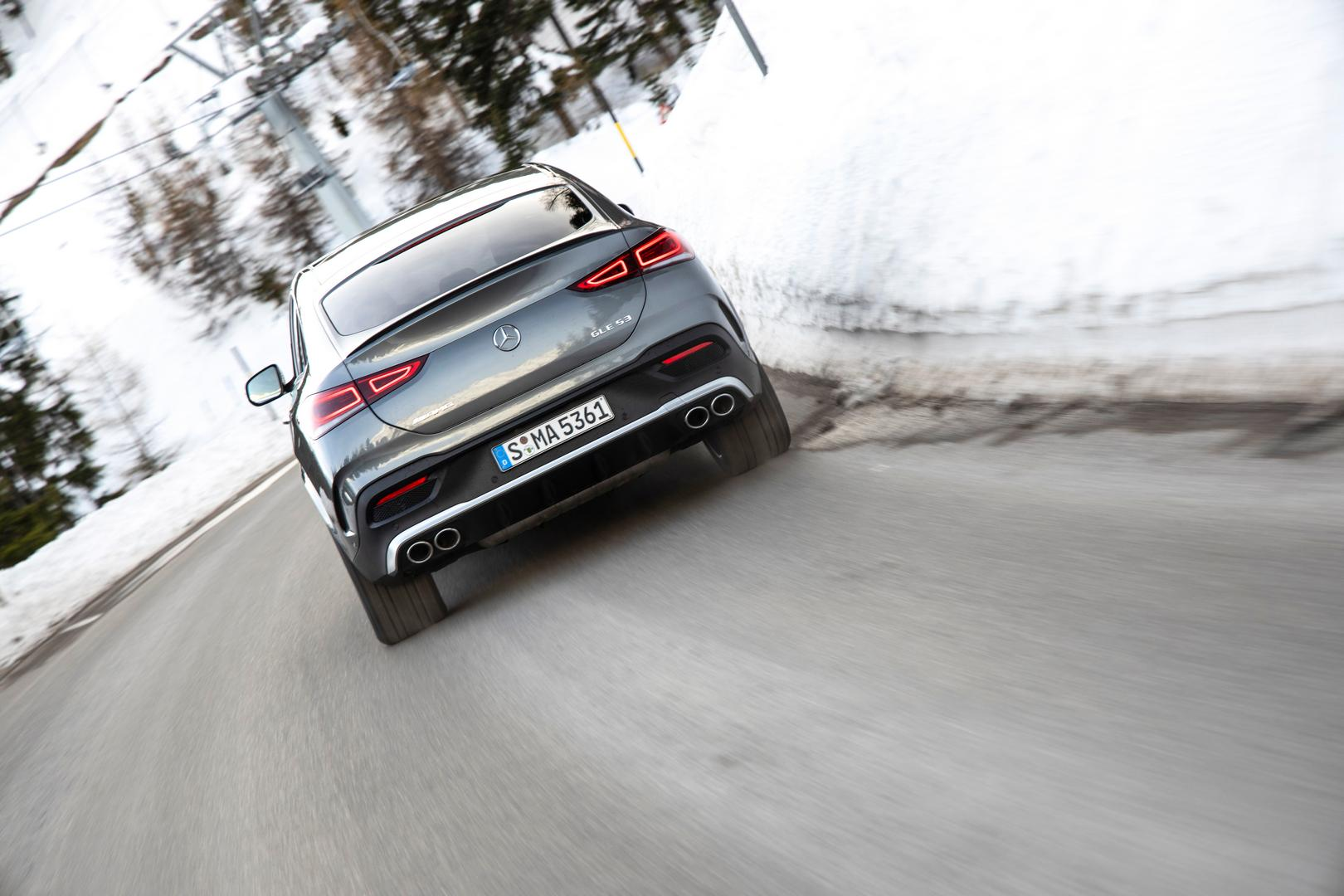 Mercedes-AMG GLE 53 Coupe 0-100km/h