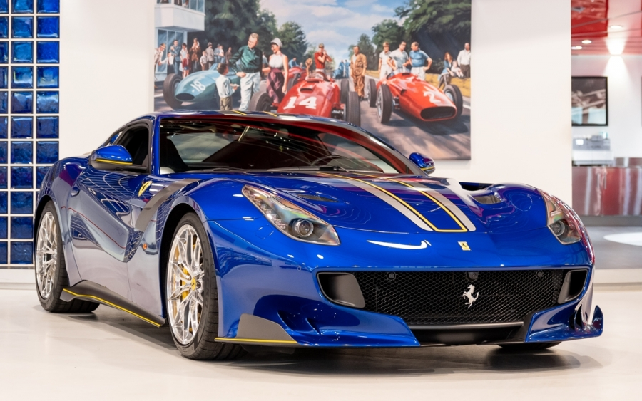 2017 FERRARI F12 TDF 'TAILOR MADE'