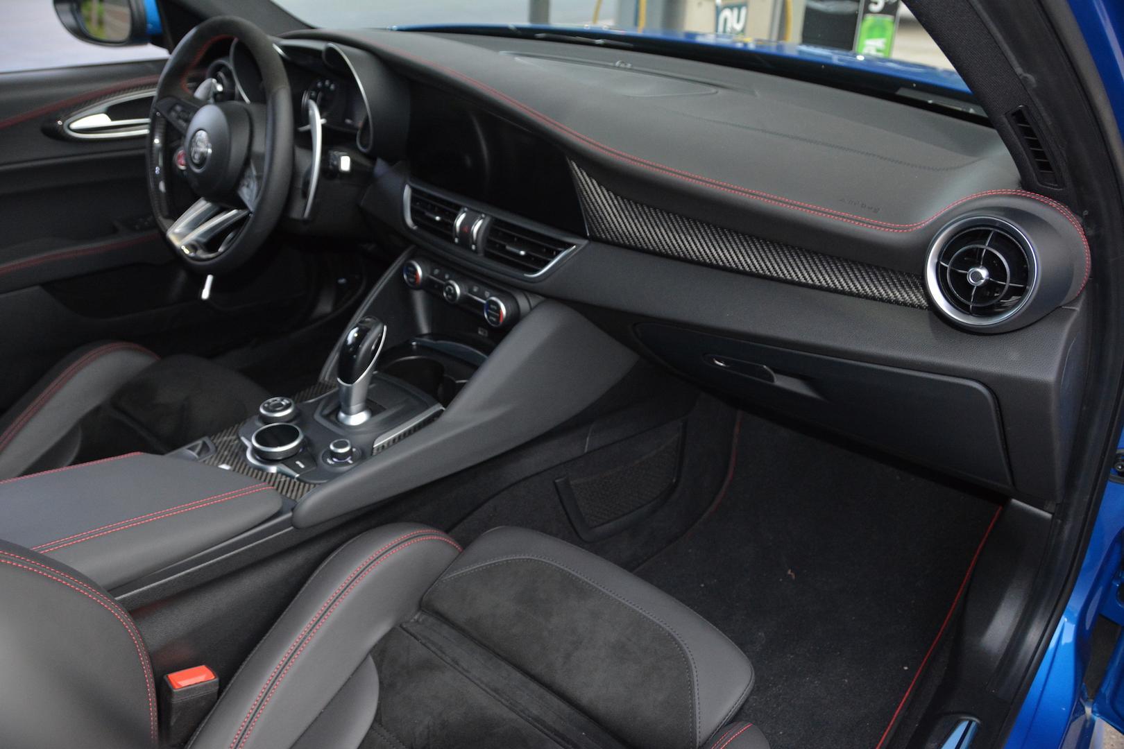 2019 Alfa Romeo Giulia QV Dashboard