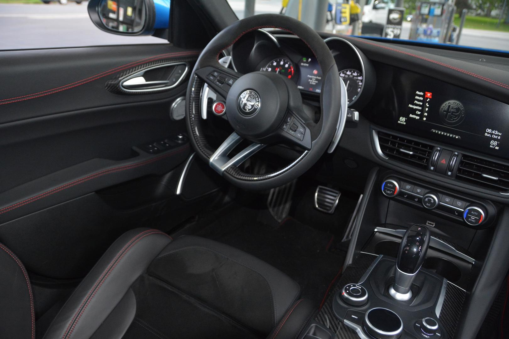2019 Alfa Romeo Giulia QV Interior