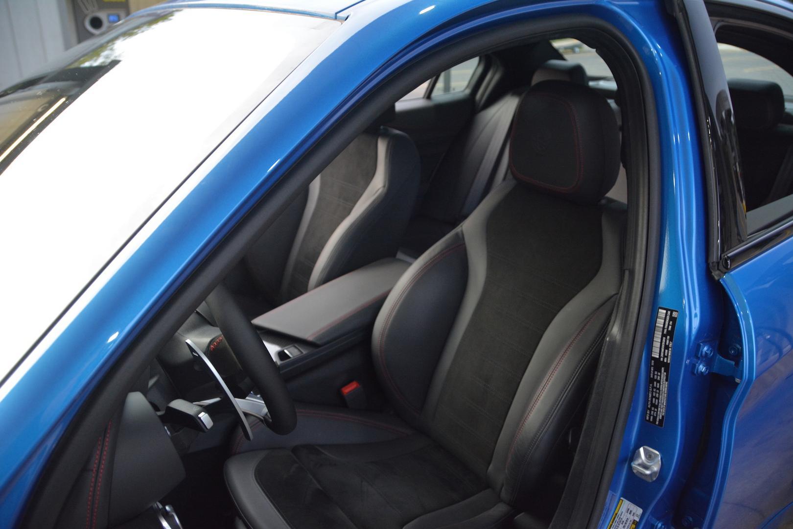 2019 Alfa Romeo Giulia QV Seats