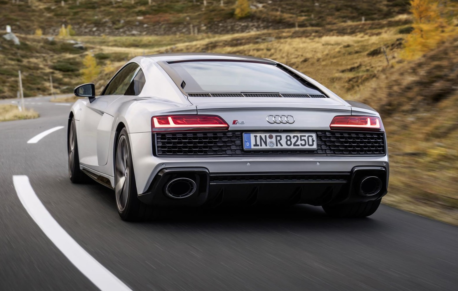 2020 Audi R8 RWD Coupe Rear