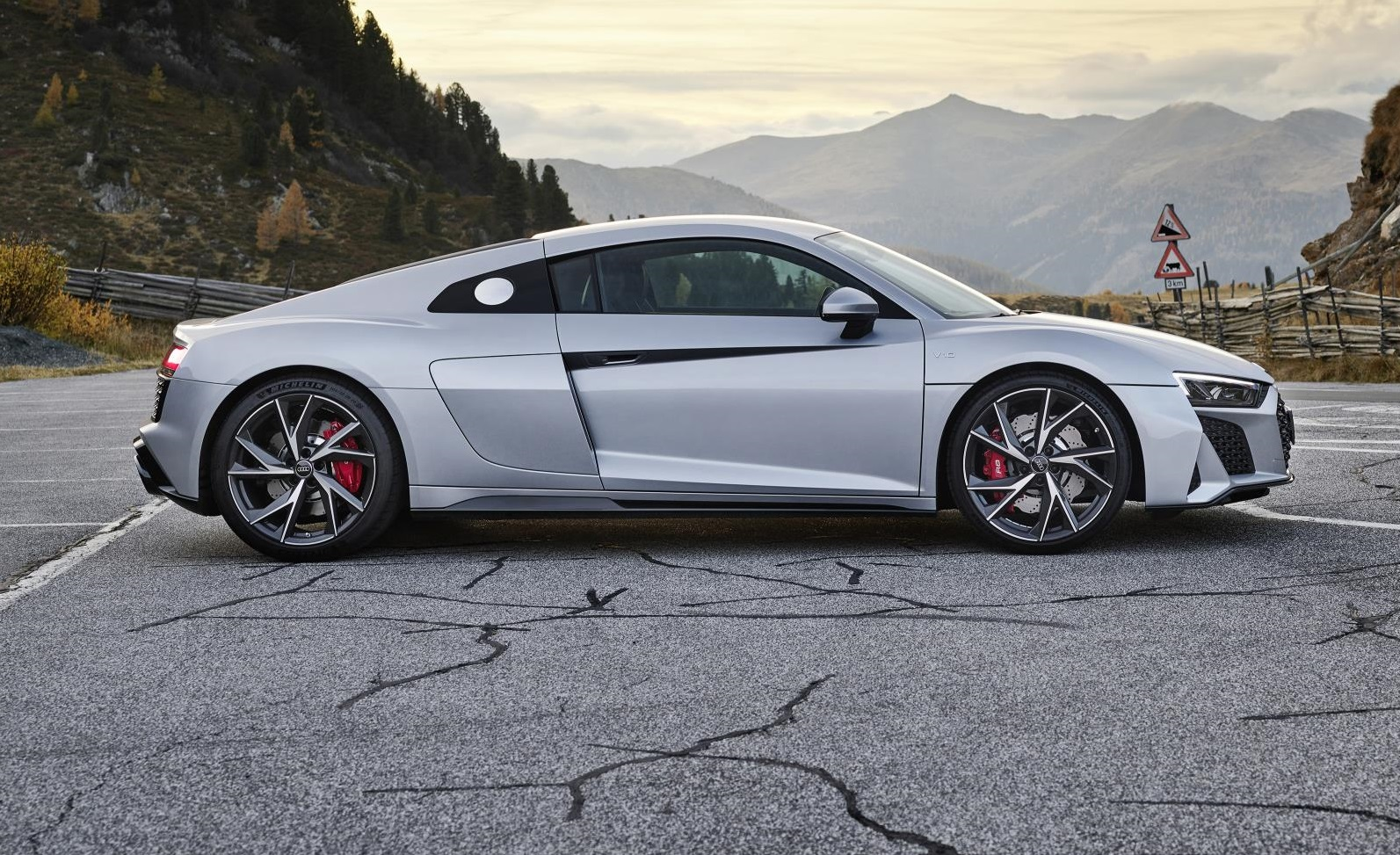 2020 Audi R8 RWD Coupe Side