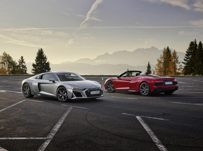 2020 Audi R8 RWD Coupe and Spider