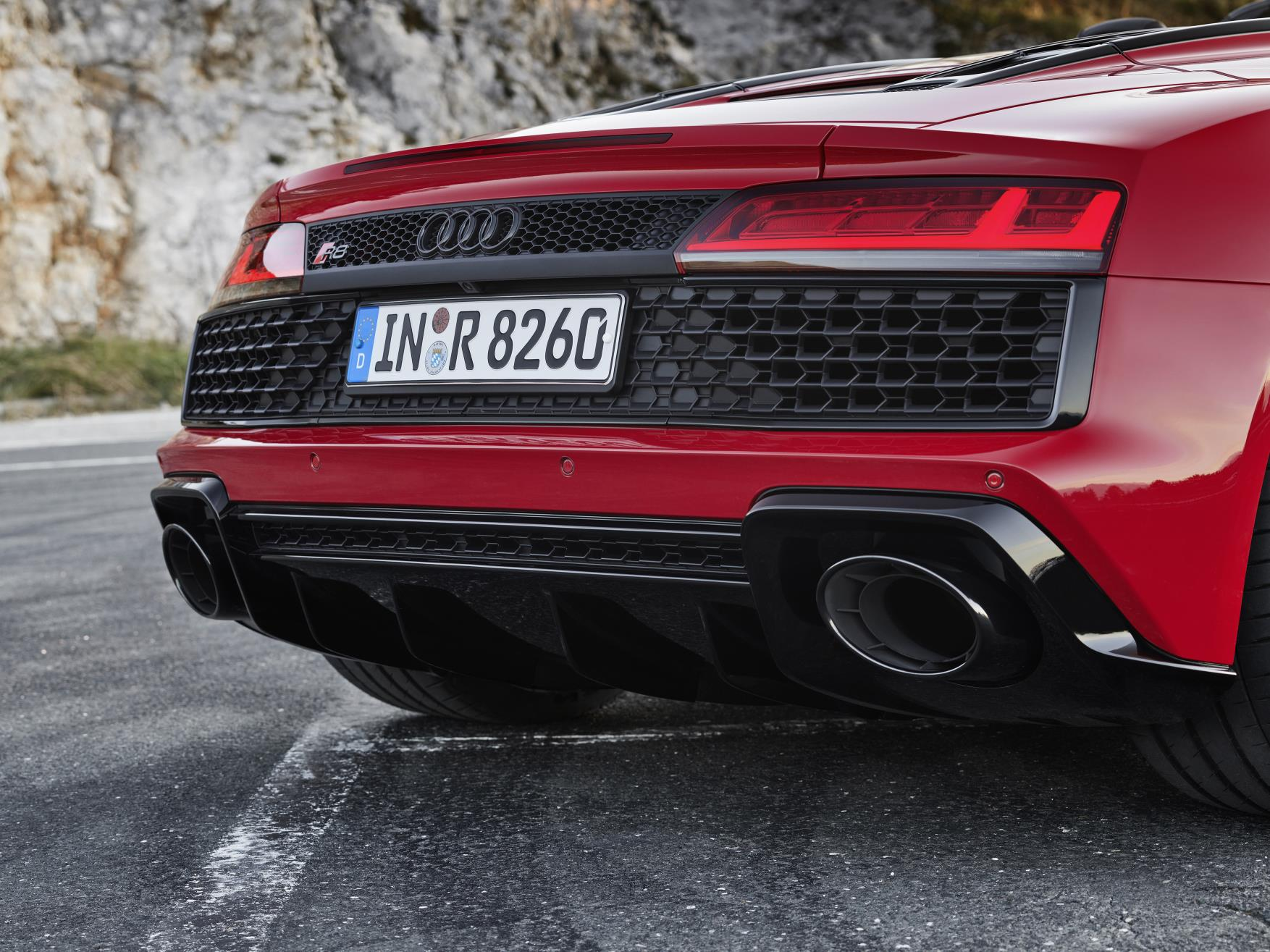 2020 Audi R8 RWD Spyder Exhaust