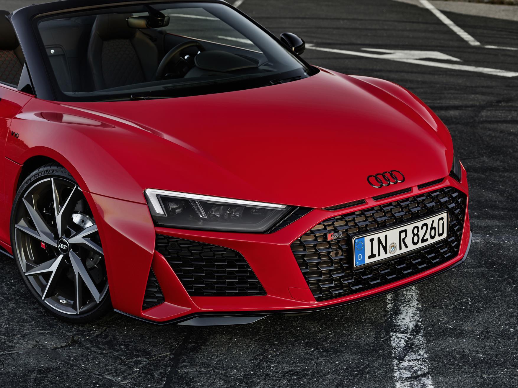 2020 Audi R8 RWD Spyder Headlights