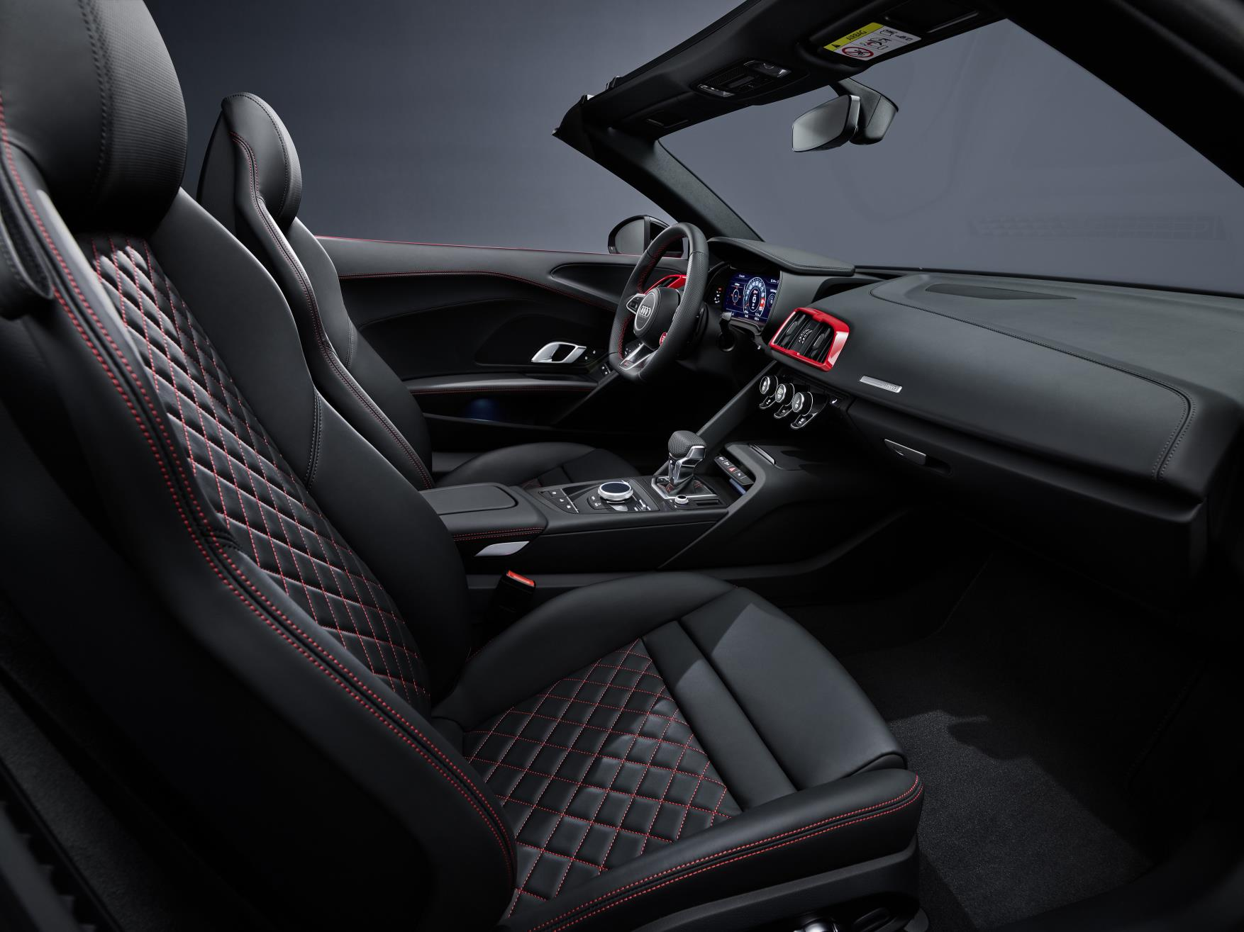 2020 Audi R8 RWD Spyder Interior