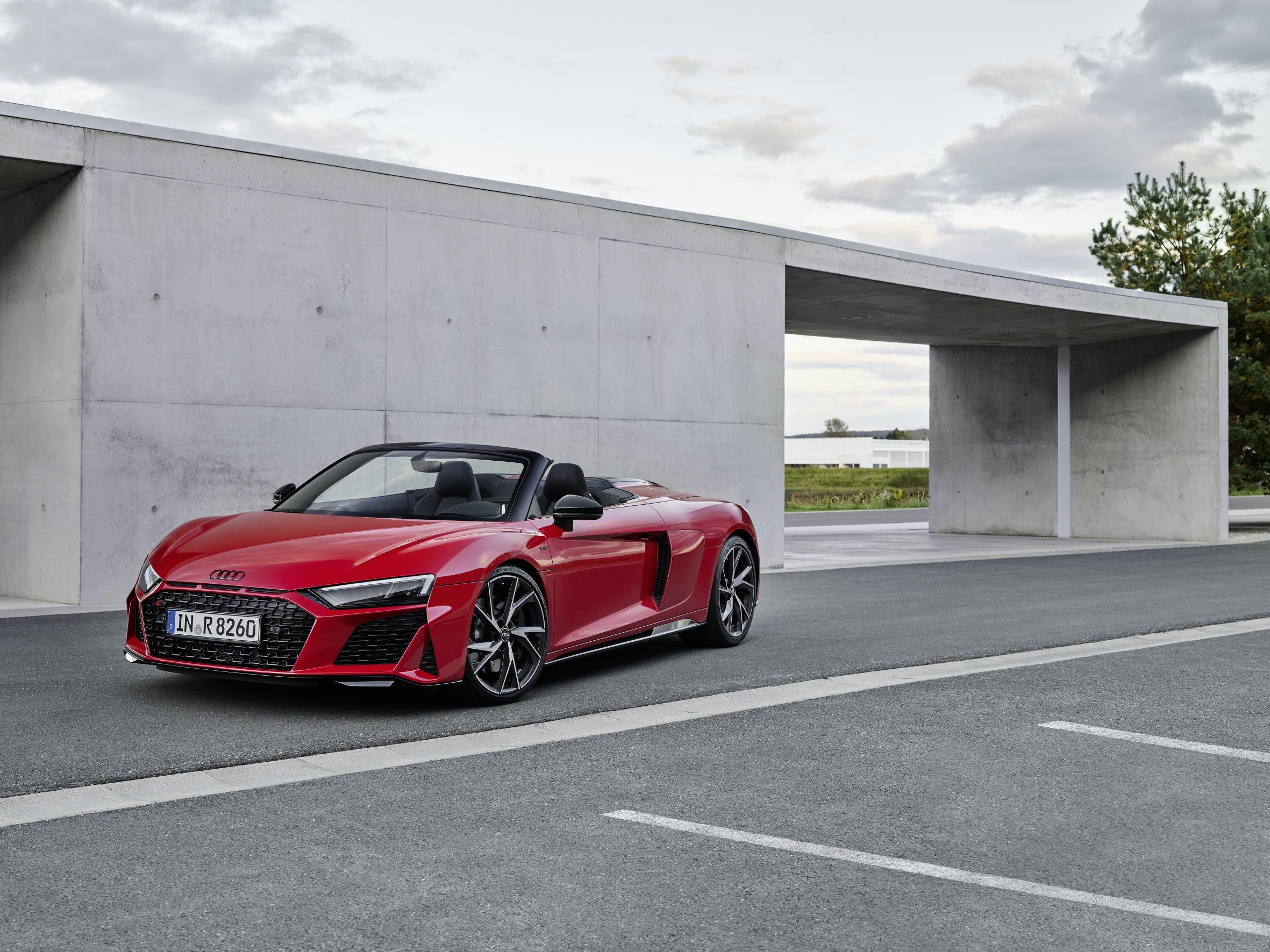 2020 Audi R8 RWD Spyder Price