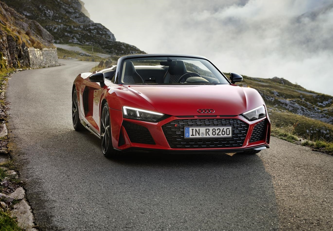 2020 Audi R8 RWD Spyder Wallpaper