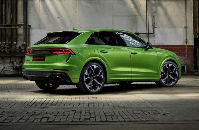 2020 Audi RS Q8 Green