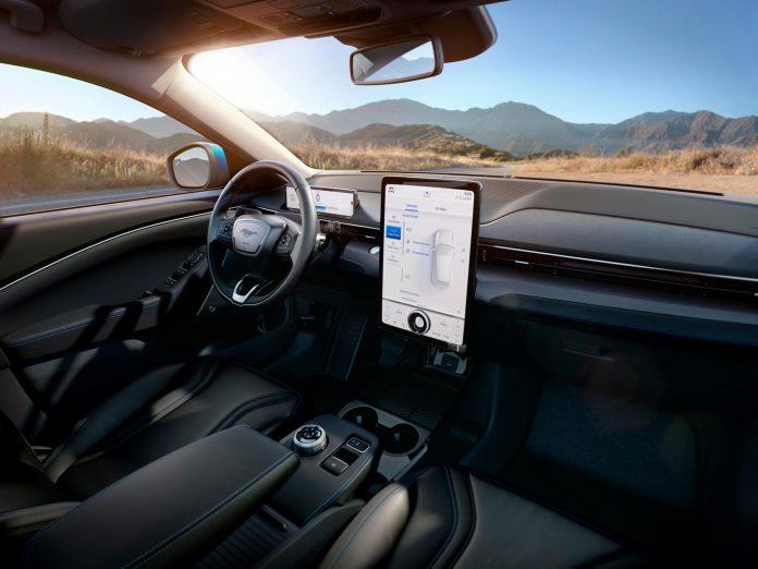 2020 Ford Mustang Mach E Interior