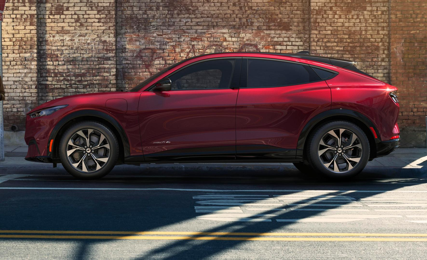 2020 Ford Mustang Mach E All Electric Suv Coupe Revealed Gtspirit